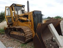 Bulldozer BULL TRAX Chargeur Chenilles HANOMAG