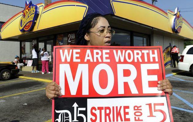 Obama militerait pour un salaire minimum horaire américain à 10$ ? Mais combien ça fait en Euros ?