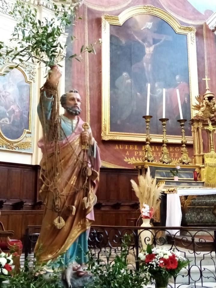 Homélie du Père Michel Isoard pour la Saint Pierre