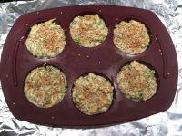 J'ai rempli les 6 alvéoles de ce moule plus 2 muffins supplémentaires