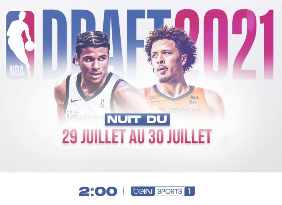 Draft NBA 2021 : Sur quelle chaîne revoir ce vendredi le direct de cette nuit ?