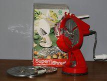 Râpe Super Shred rouge Années 70 - Vintage