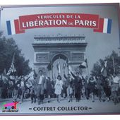 COFFRET COLLECTOR LA LIBERATION DE PARIS TRACTION 11 FFI RENAULT AHN ATLAS - car-collector