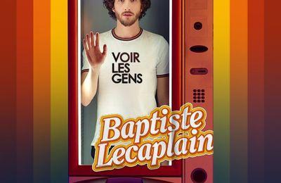 BAPTISTE LECAPLAIN reviendra VOIR LES GENS au CAFÉ DE LA DANSE du 21 au 31 décembre 2020.
