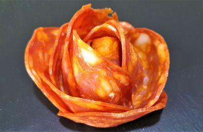Roses en saucisson ou chorizo - Toc-cuisine Vidéos