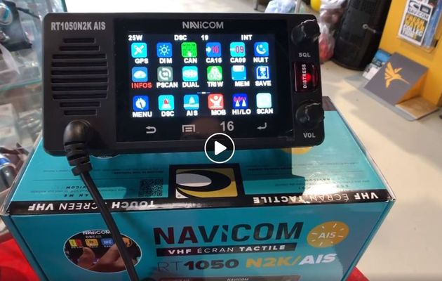 Scoop - avec la RT1050, Navicom révolutionne les VHF fixes