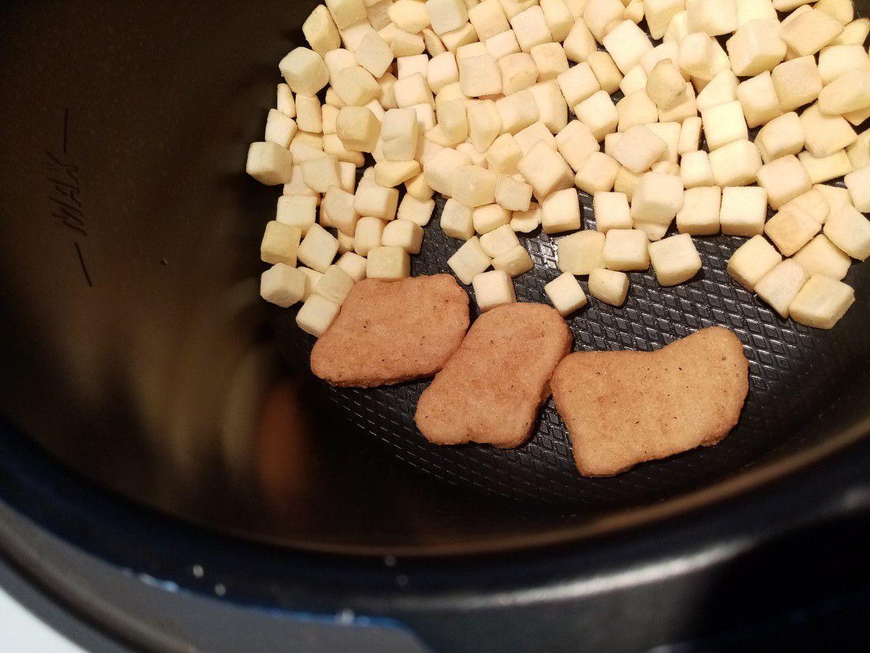 Nuggets à l'extra crisp cookeo