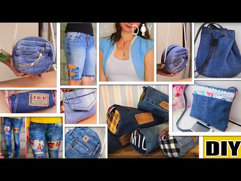 DIY : Do It Yourself : Recycler du Jean's