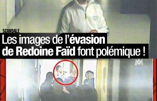 Les images de l'évasion de Redoine Faïd font polémique ! #Scandale