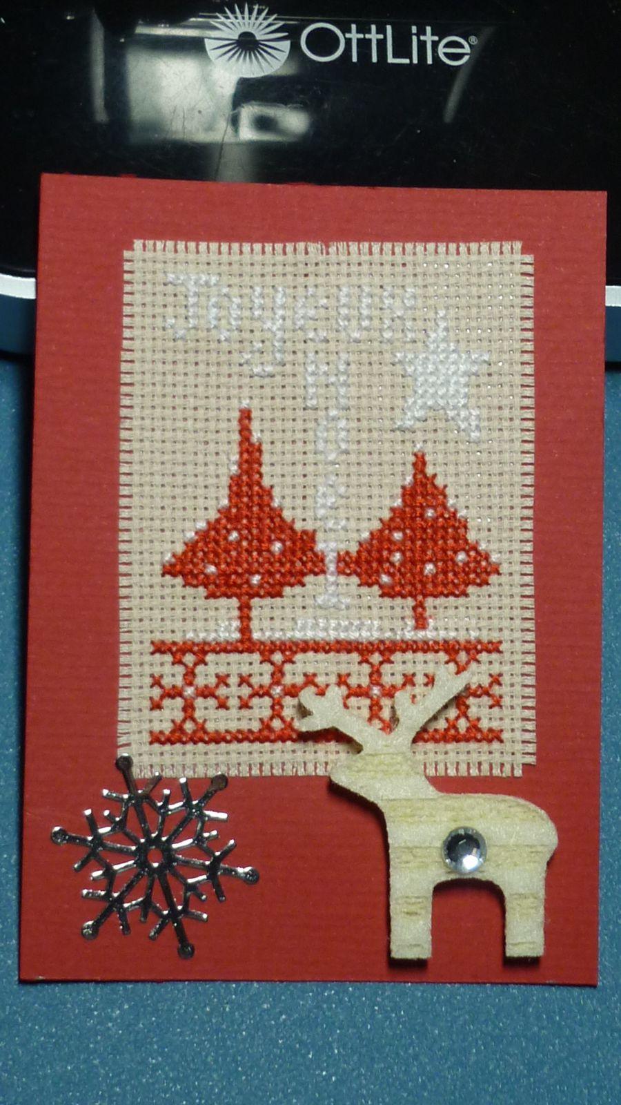 Collection ATC's de Noël chez Sandrine / 3 .