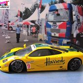 MC LAREN F1 GTR 3 HARRODS LE MANS 1995 WALLACE / BELL MINICHAMPS 1/43 - car-collector.net