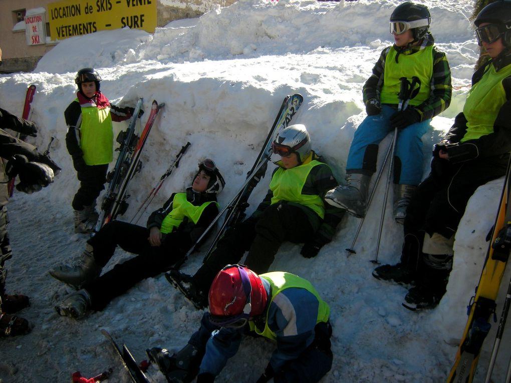 Séjour ski : Journée du mardi 10 février (suite 2)