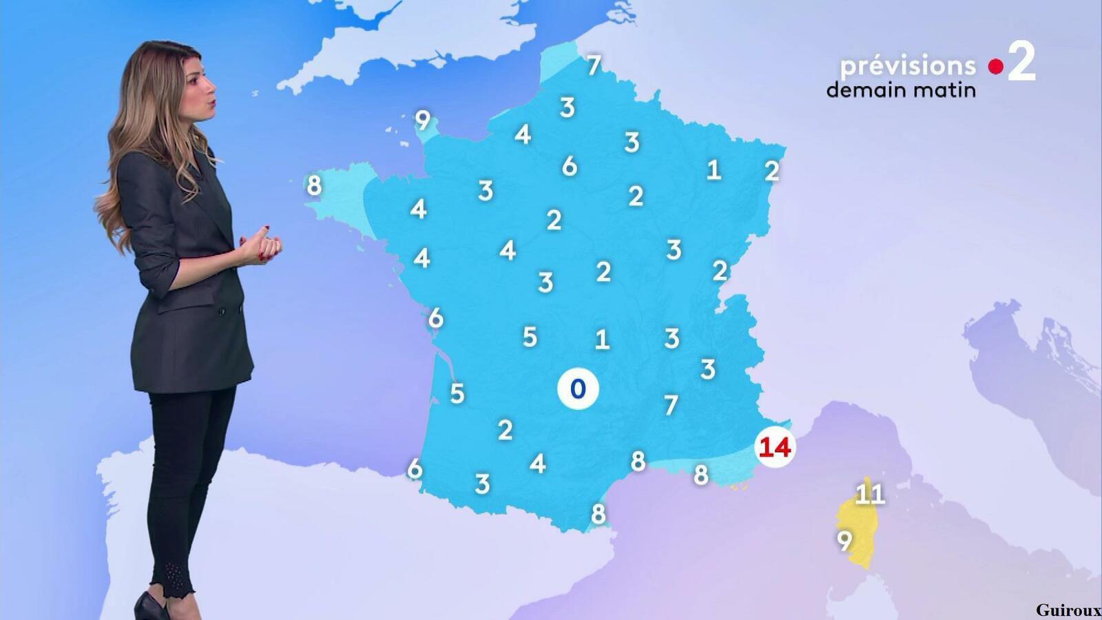 Chloé Nabédian 13/10/2021 Journaux météo du soir