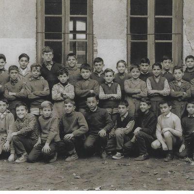 photo de classe 1962 de la part de P. Lauvernier.