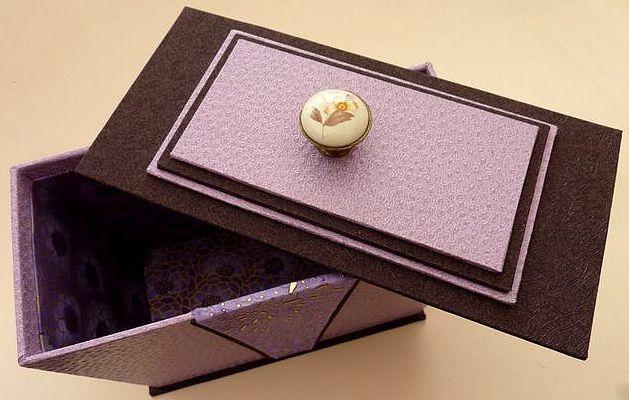 La boîte trapèze de Pascale ...