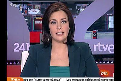 2011 11 03 @20H00 - SARA RAMOS SORIANO - TVE 24H - TELEDIARIO