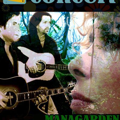 Managarden live samedi 30 mai au Roi de Pique - Paris à partir de 18h30