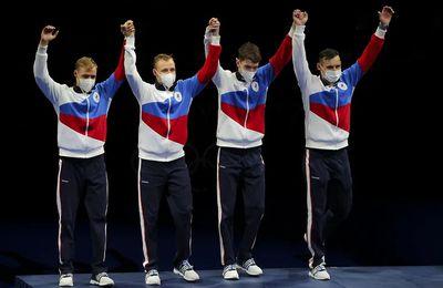 Le triomphe de la volonté : C'étaient bien des athlètes Russes et en plus beaucoup d'entre eux étaient des paramilitaires !