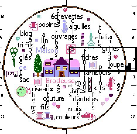 """SAL """"TAMBOUR DE BRODEUSE"""" - Objectif 2  (du 16 au 31 janvier)"""