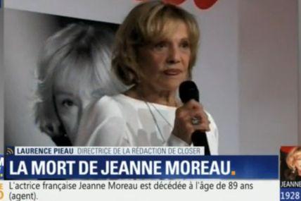 La mort d'une légende du cinéma : Jeanne Moreau