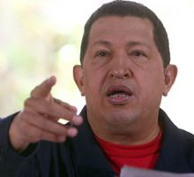 Hugo Chávez arremete contra el Papa Benedicto XVI.