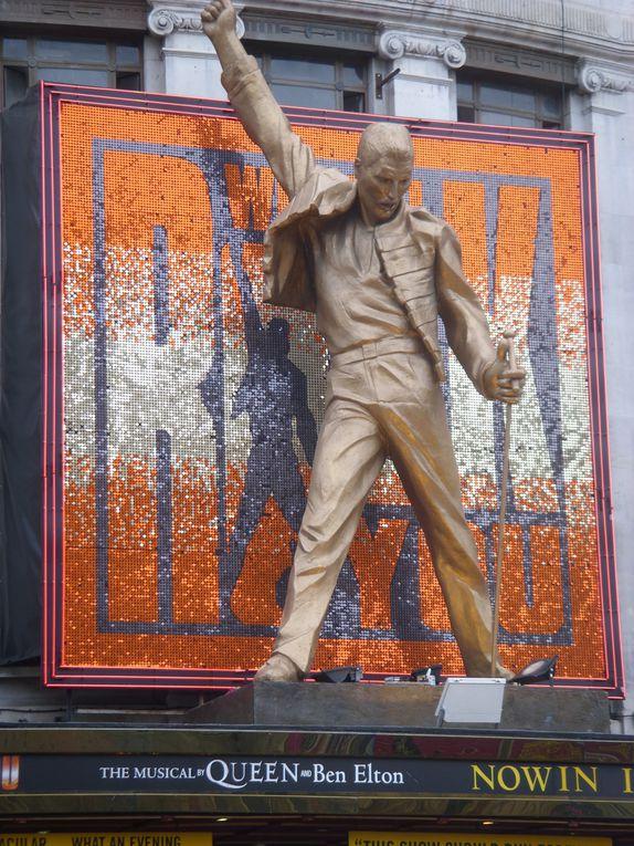 Un petit week-end de travail mais qui a laissé deux jours sympas autour de mon anniversaire, balade, galeries et comédie musicale (Billy Elliot génial !)
