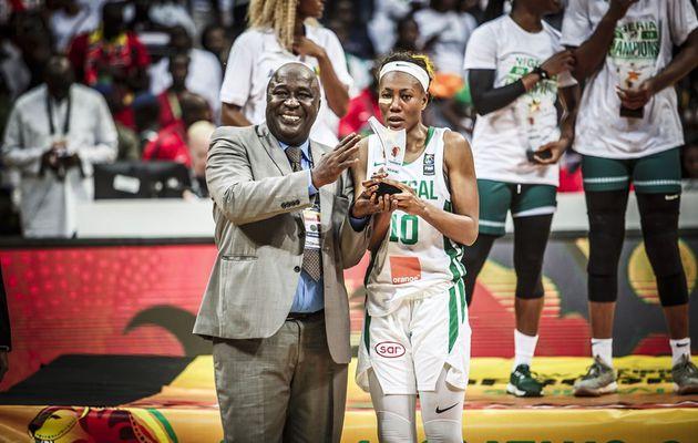 Astou Traoré élue meilleure ailière de l'AfroBasket women 2019