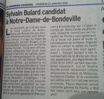 Sylvain Bulard candidat de l'UMP aux Départementales 2015 sur le Canton de… Notre Dame de Bondeville