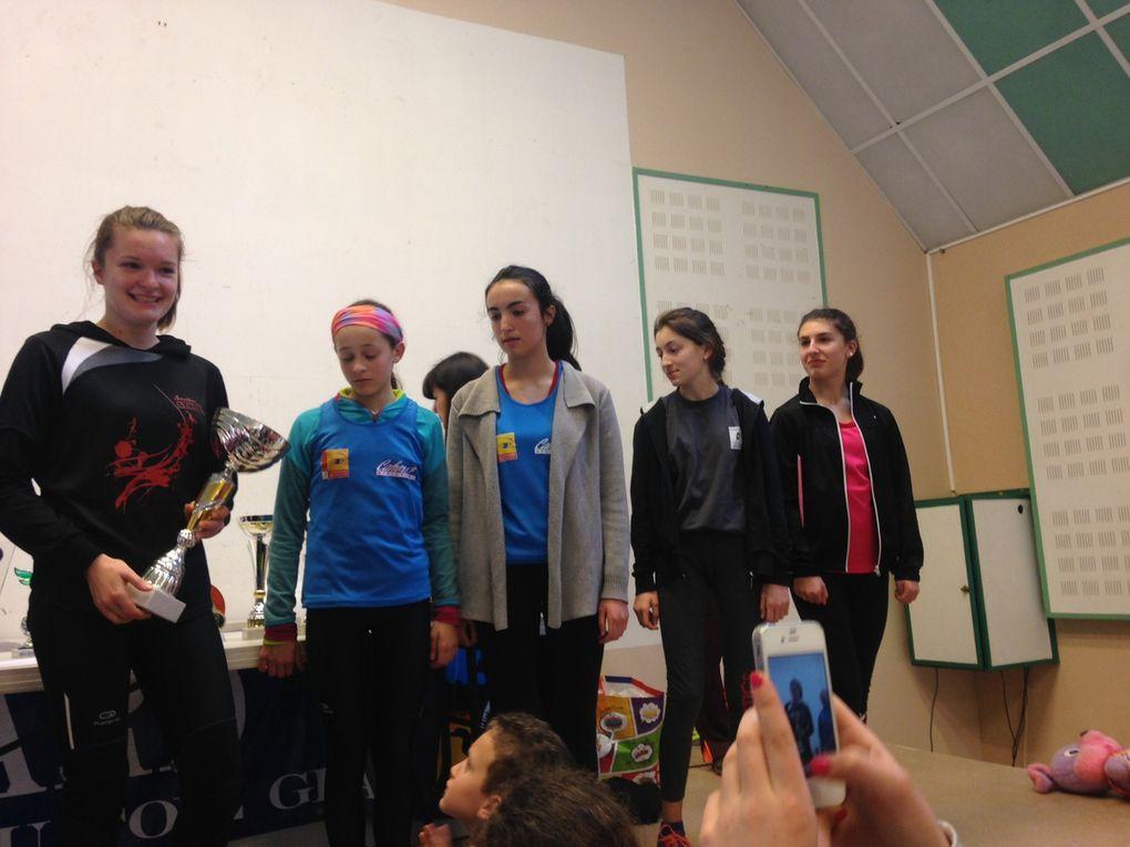 Chemins Gigouzacois (podiums jeunes)
