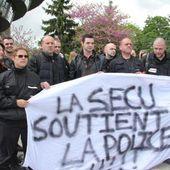 A Rennes, les agents de sécurité manifestent eux aussi
