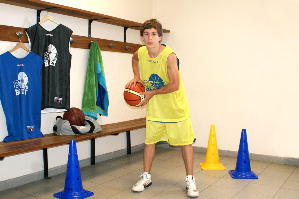 photographies individuelles campeurs et staff 2011 - 2F Camps Basket