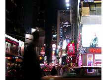 Le passant de Broadway