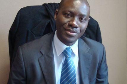 Le Gars du moment M.N'guessan charge du protocole à l'ambassade de Cote d'Ivoire