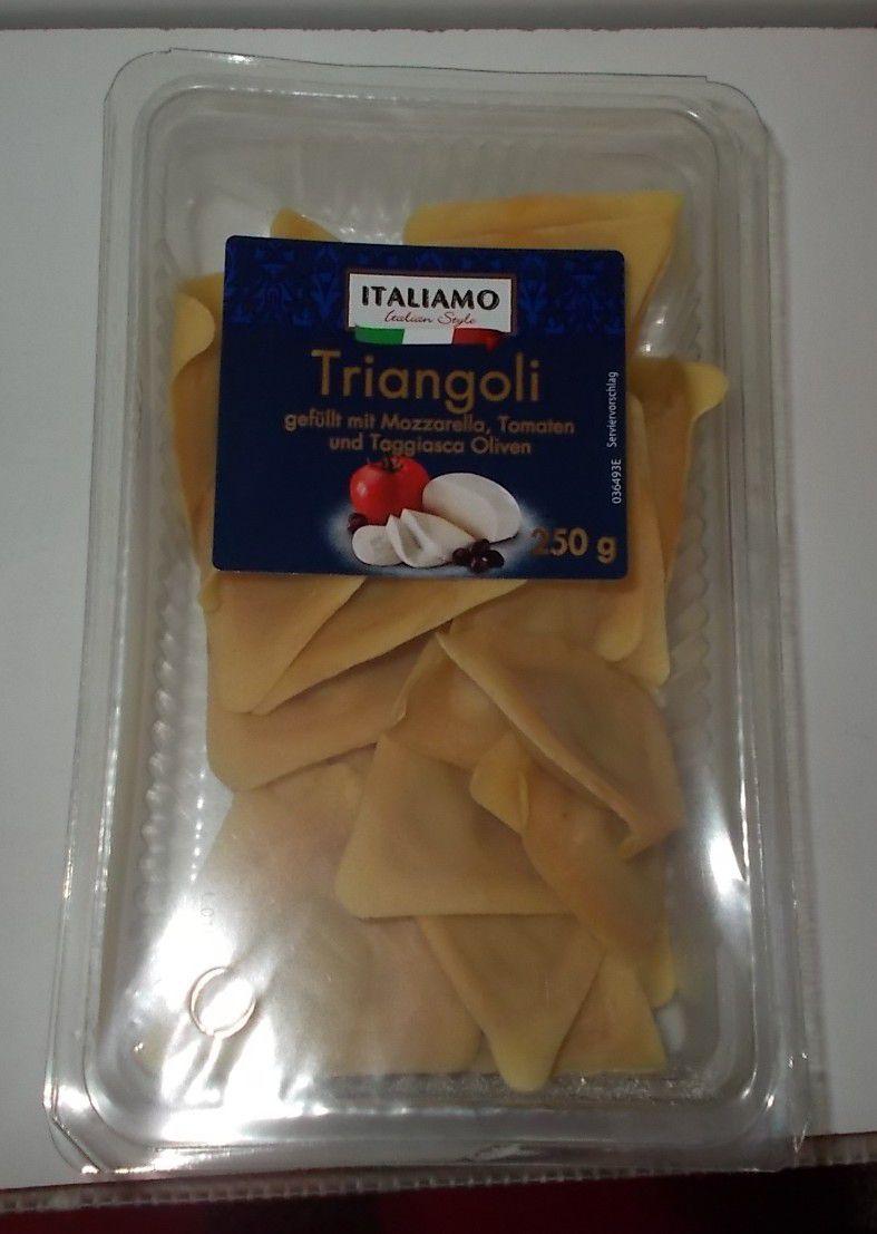 [Lidl] Italiamo Triangoli mit Mozzarella, Tomaten + Oliven