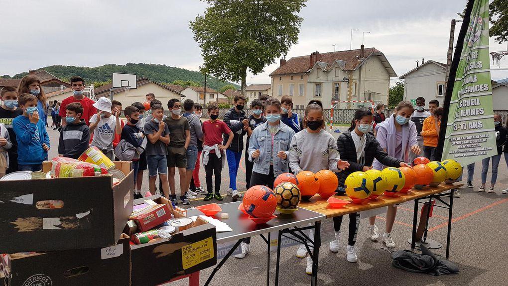 Salies-du-Salat. Une quinzaine de foot et de solidarité au collège