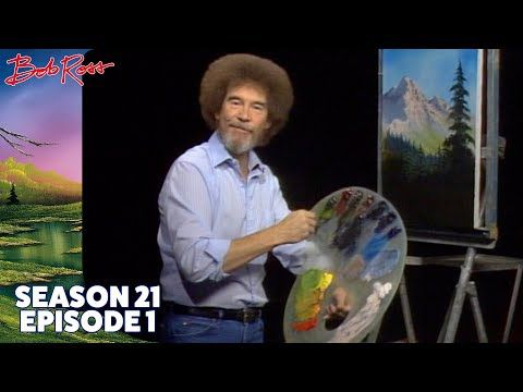 Bob Ross - The Joy of Painting - Valley View - Video.