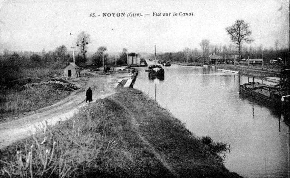 Album - la ville de Noyon (Oise), le canal