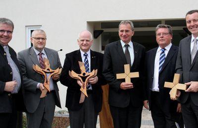 Eindrucksvolle Einweihung des neuen Ausbildungs-Internats für psychisch belastete Jugendliche in Gadheim - 1,8 Millionen Euro investiert