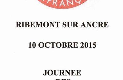Journée des porte drapeaux à Ribemont sur Ancre