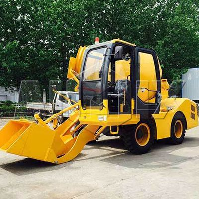 A Few Ways For Top Level Self Loading Concrete Mixer Price