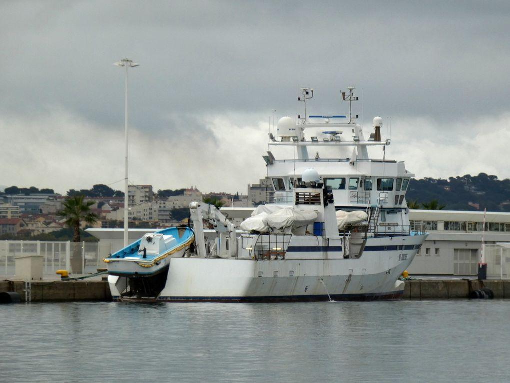 JEAN MARIE CHRISTIAN 6 , a quai au port de la Seyne sur Mer le 21 octobre 2019