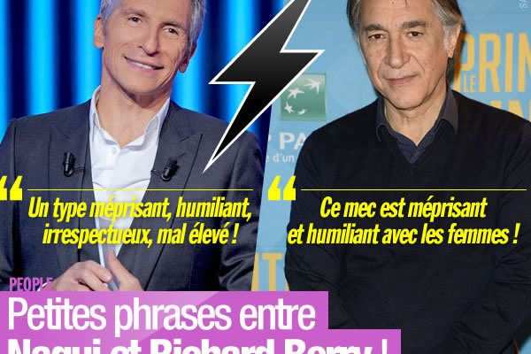 Petites phrases entre Nagui et Richard Berry ! #Clash