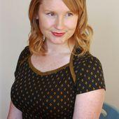 Jennifer Lauren Vintage: Introducing The Bronte Top! Pattern Number Two.