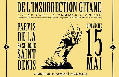 #SAINTDENIS #NUITDEBOUT / Fête de l'insurrection Gitane 2016