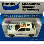 PEUGEOT 205 GTI KIT 120 CV BENDIX ALLIED SOLIDO 1/43. - car-collector.net