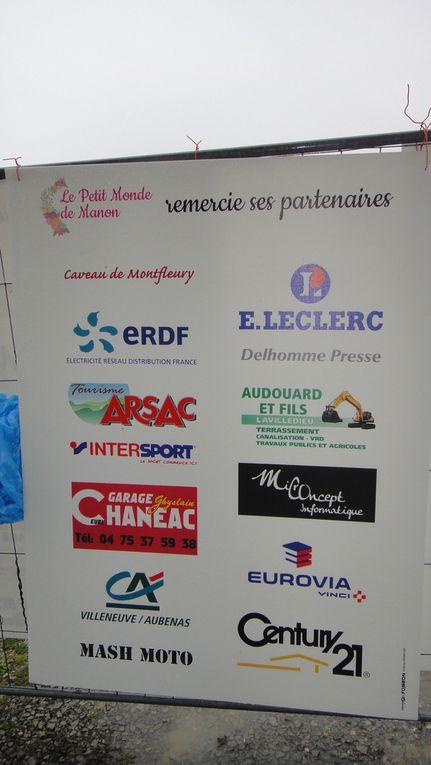Les sponsors de la journée