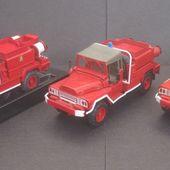 Le VLRA 4x4 Sécurité civile, sapeurs-pompiers, pompiers militaires (Verem, Cef-Replex, MAI...) -