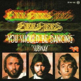 BEE GEES - YOU SHOULD BE DANCING - SINGLE VINILO - 1976