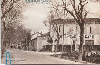 Avenue de la gare à Saint-Paul-Trois-Châteaux (N°279)