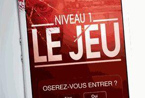 """""""LE JEU, niveau 1: oserez-vous entrer?"""", de Anders de la Motte"""